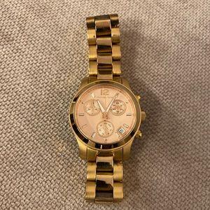 Michael Kors Rose Gold Watch 34mm